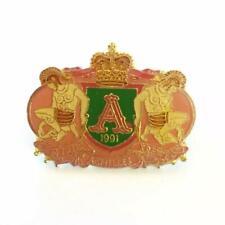 Vintage Mardi Gras Mystic Krewe of Achilles Carnival Pin Brooch 1991 Baton Rouge