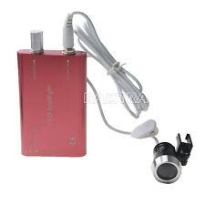 Dental Portable Surgical LED Head Light Lamp For Medical Dentist Loupe + Adaptor