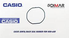 CASIO JUNTA/ BACK SEAL RUBBER, PARA MODELOS. HDD-600