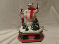 COCA-COLA 'ALWAYS COOL' POLAR BEAR CHRISTMAS ANIMATED MUSICAL LIGHTS 1994