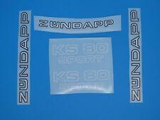 Zündapp Aufkleber Lacksatz  Aufklebersatz Dekor KS 80 sport Typ 537