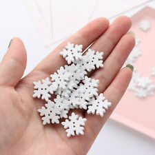 Supplies Sewing Button Snowflake Buttons Christmas Ornament Clothing Decoration
