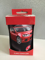 BNIB Official Genuine Holden Merchandise Red Commodore Print Stubby Can Holder