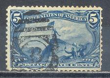 US Stamp (L2151) Scott# 288, Used HR, Tear, Vintage Commemorative