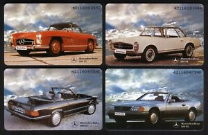 Germany: 9 Diff Mercedes Benz Chip Phonecards (Only 2000-3000 printed) Near Mint