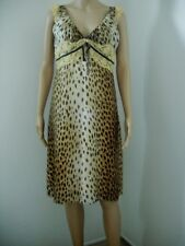 Women's Special Occasion Dress MISS SIXTY Leopard Dress Made in Italy Size M