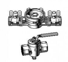 Einbausatz  DN 15 mit Absperrventile für Allmess Integral-MK-MaXX 2501000006