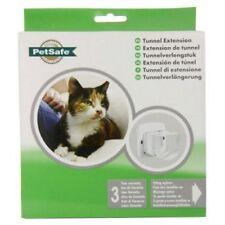 Chatières et portes extensions de tunnel blancs PetSafe pour chat