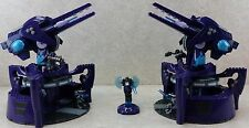 LOT 2x Mega Bloks Halo Covenant Anti Aircraft Guns From kit 96923 And More Glued