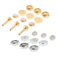 Trumpet Cap Screw Cover Finger Buttons & Golden Plating Trumpet Parts