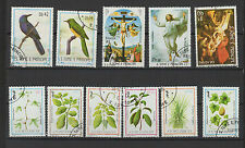 1983 St Tome et Principe 11 timbres oblitérés / T1399