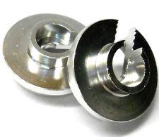 L4118 1/10 Scale Shock Absorber Damper Spring Cap Holder x 2 Silver Repair