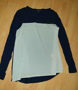Warehouse Definitives Gr.36 Damen Shirt Tunika Mit Spitze