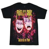 Motley Crue THEATER OF PAIN T-Shirt THE DIRT NEW Licensed & Official