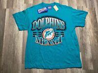 NEW Vintage RARE 1994 AFC Champions Miami Dolphins NFL Dan Marino T-shirt Sz L