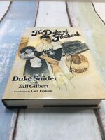 THE DUKE OF FLATBUSH (1988 HB/DJ 1st printing) Brooklyn Dodgers by DUKE SNIDER