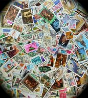 Worldwide, Medium to Large Stamps only by the 100's from our Million WW Stock