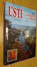 Bohemia Usti nad Labem and surroundings photo-album In Czech English German