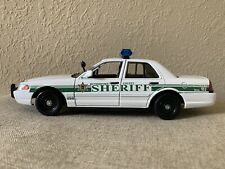 Rutherford County Tennessee custom sheriff's diecast car Motormax 1:24 scale