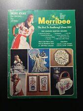 Merribee Needlecraft Since 1930 Creative Stitchery Crewel Rug Yarn Needlework
