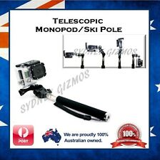 Selfie Stick Handle Pole for Nikon Keymission 360 4k Action Camera - Ski Monopod