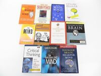Lot of 11 Mind, Brain, Mental Power Books: Thinking, Exercises, Research, Health