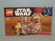 LEGO® Star Wars Bauanleitung 7670 Hailfire Droid instruction gelocht B2948