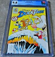 DUCKTALES 1 - CGC 9.8 WP 1990 - Disney Comics FIRST ISSUE 1st