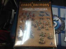 Chaos Daemon Battleforce /Battalion 2012 Warhammer 40k Games Workshop NEW SEALED