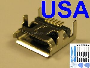1x Micro USB Charging Port Sync for Acer Iconia W4-820-2668 W48202668 Tablet USA