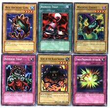 Ω YUGIOH Ω Lot de 6 Belles Cartes Lot N° YH 50