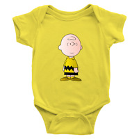 Infant Baby Rib Bodysuit Newborn Charlie Brown Peanuts Snoopy Comics Classic Fun
