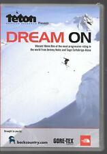 TETON PRESENTS DREAM ON, JEREMY NOBIS & SAGE CATTABRIGA-ALOSA, USED DVD