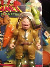 Vintage 1991 Captain Planet Hoggish Greedly Action Figure Complete Sealed