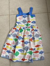 Mini Boden 9-10 Seashore Dress With Adjustable Straps