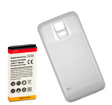 Long Life 7800mAh High Capacity Battery + Cover for Samsung Galaxy S5 i9600 Wte