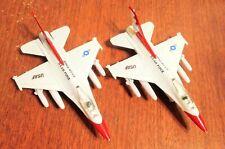 Lot of 2 Die-Cast U.S. Airforce Fighter Jet (Pull Backs) Toys