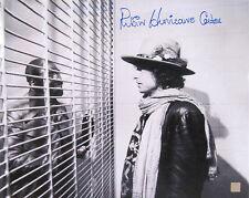 "Rubin ""Hurricane"" Carter Autographed 16x20 Photo w/ Bob Dylan ASI Proof"