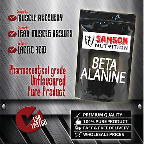 Pure Beta Alanine Powder 100g [ Pre Workout Enhancer ] Pharmaceutical Grade