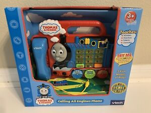 VTech Thomas & Friends CALLING ALL ENGINES Phone - 10 Characters Buttons