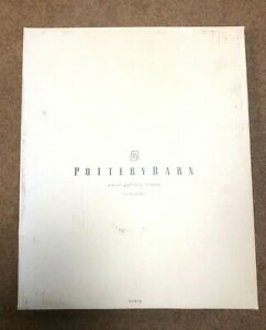 """Pottery Barn Wood Gallery Frame Displays 4x6"""" Photo Honey New In Box"""