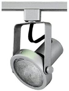 Royal Pacific Gimbal Ring Track Light Head Fixture Brushed Aluminum ~ New