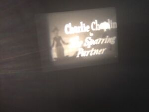 8mm Charlie Chaplin Boxing Films The Sparring Partner and The Champion 400' Reel