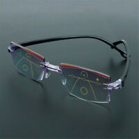 Progressive Multifocal Presbyopia Eyeglasses Reading Glasses Diamond-cut Useful