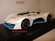NOREV ALPINE RENAULT VISION GRAN TURISMO 2015 WHITE / BLUE in the 1/43°
