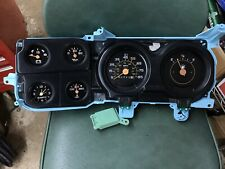 OEM73-87 Chevy/GMC Truck Suburban Blazer Jimmy Gauge Cluster With Clock Restored