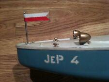 Fanion pour les canots JEP N° 3 & 4 & 5 Bateau boat pennant flag in Red & White