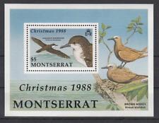 Montserrat - Michel-Nr. 734 als Block 50 postfrisch/**  (Weihnachten / Vögel)