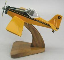 Ayres Thrush Snow S-2 Airplane Desktop Mahogany Kiln Dry Wood Model Regular New