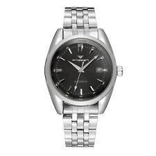 MEN Woman Wristwatch Skeleton Automatic Mechanical Stainless steel Dress Watch